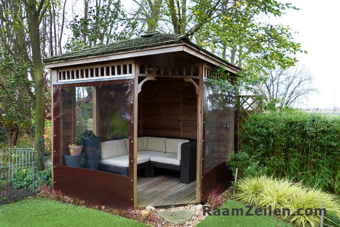 verandazeilen-prieel-bruin